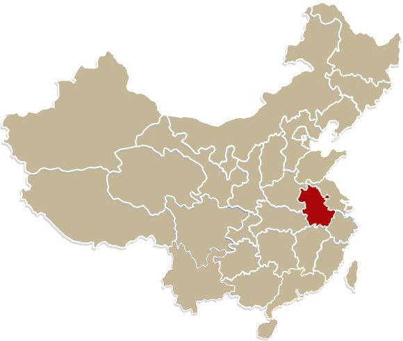 Chiny, prowincja Anhui