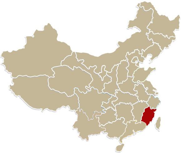 Chiny, prowincja Fujian, region Anxi