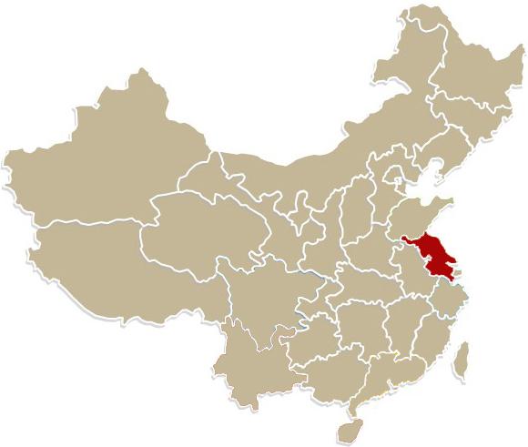 Chiny, prowincja Jiangsu