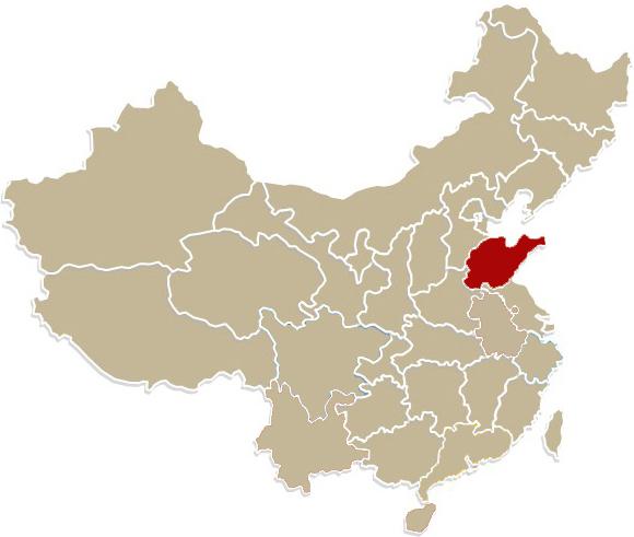 Chiny, prowincja Szantung