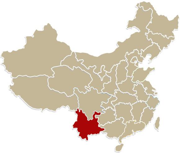 Chiny, prowincja Yunnan