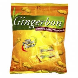 Cukierki Gingerbon Masło Orzechowe