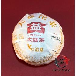 Herbata Shu Pu-Erh V93 (Menghai, Da Yi), 100 g