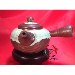 Gliniany czajniczek Zen (mętowy)