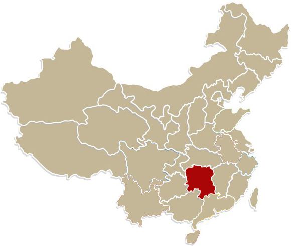 Chiny, prowincja  Hunan