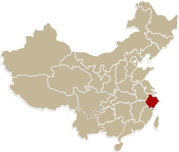 Chiny, prowincja  Zhejiang