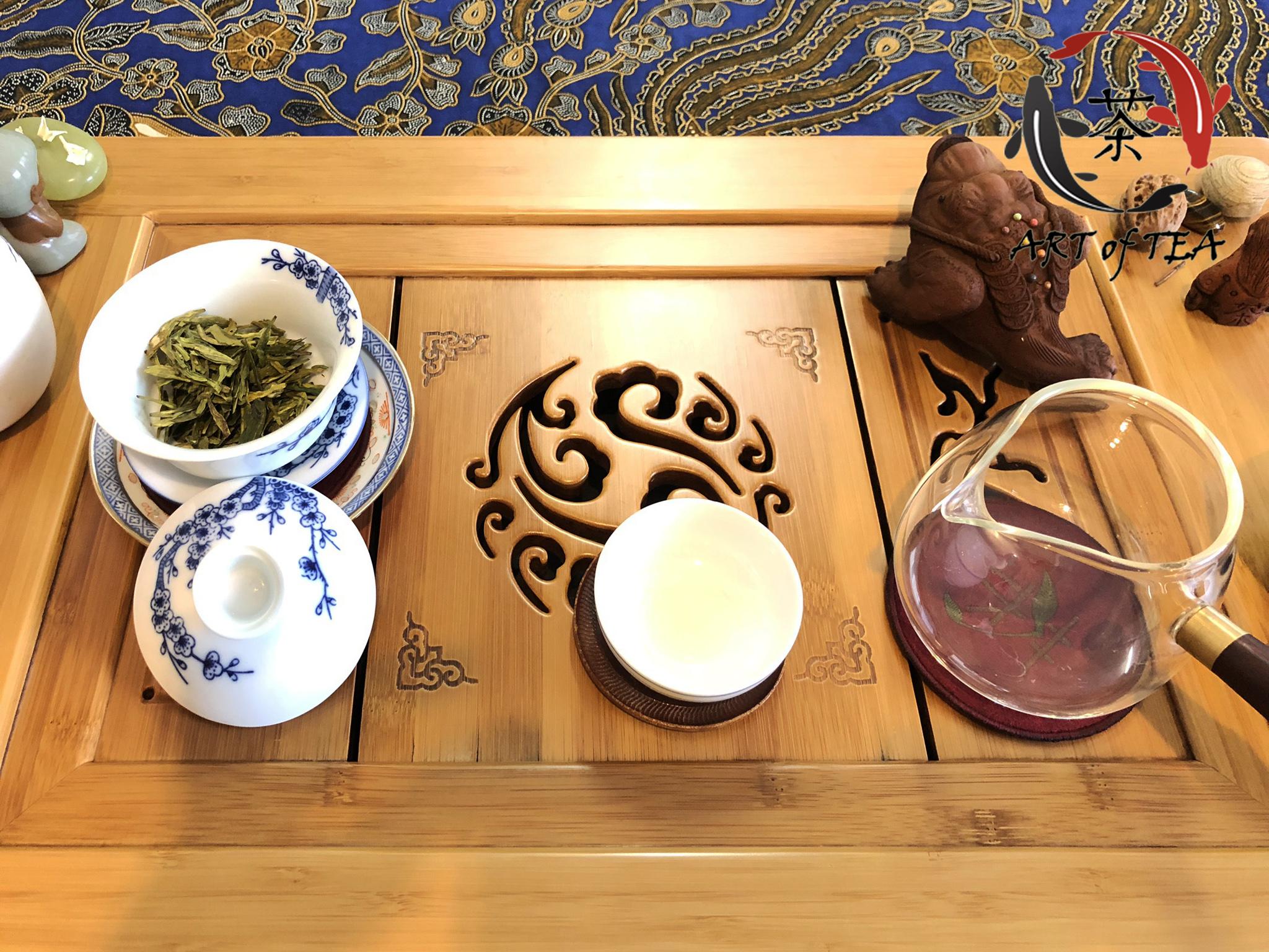 Shi Feng Long Jing (parzenie)