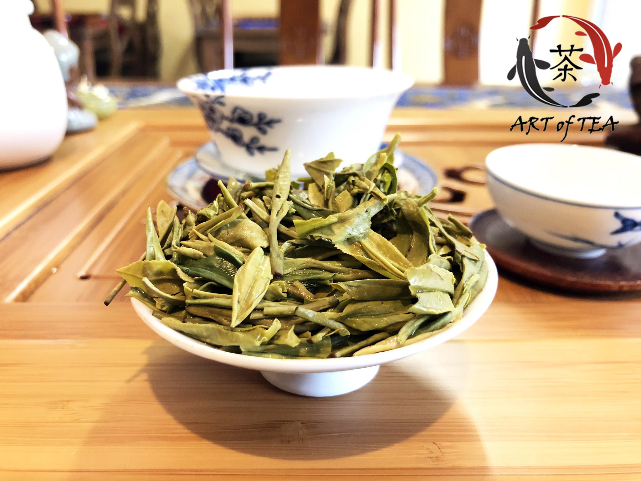 Shi Feng Long Jing (liści)