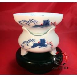 Porcelanowe sitko (domek)