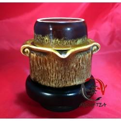 Jednoosobowy zestaw dla parzenia herbaty (Yaobiań)