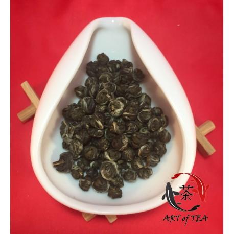 Herbata zielona Moli Tai Mu Long Zhu (Jaśminowa perła smoka)