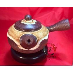 Gliniany czajniczek Zen (żółty)